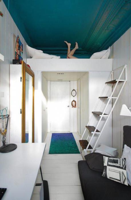 зонирование комнаты 18 кв м на спальню