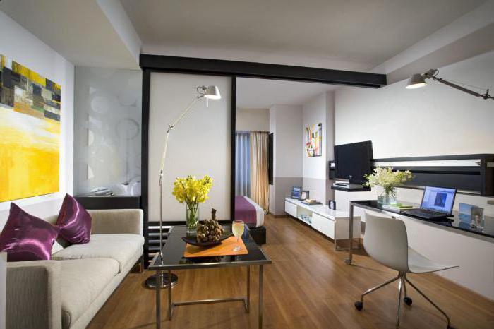 идеи перегородок в однокомнатной квартире