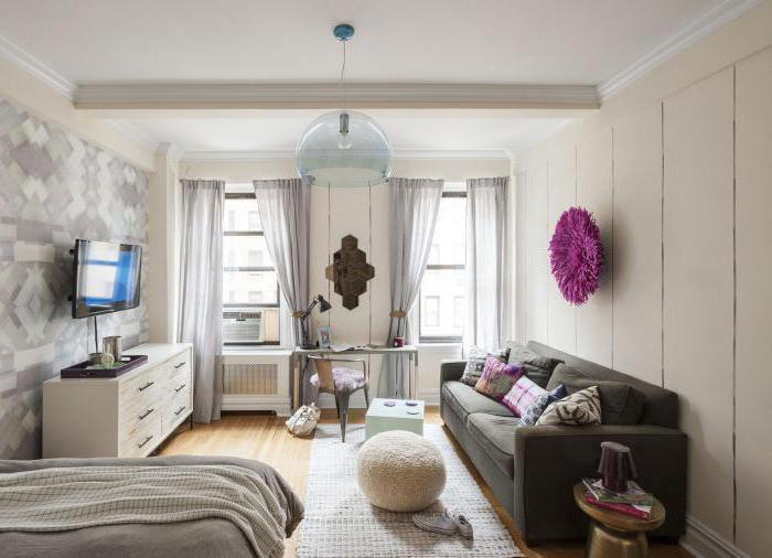 идеи разделения однокомнатной квартиры