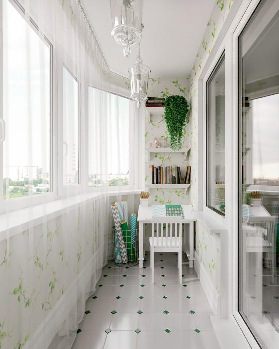 декор балкона в стиле прованс