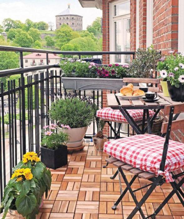 стиль в интерьере прованс балкон