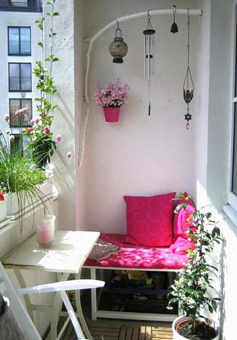 балкон в стиле прованс своими руками