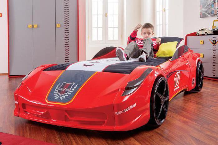 кровати машины для детей