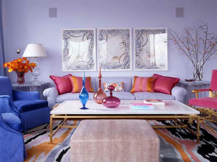 цвет комнаты