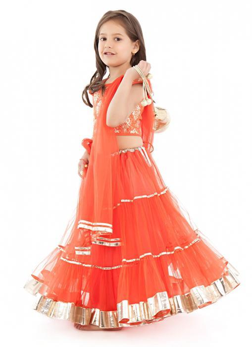 Восточное платье для детей