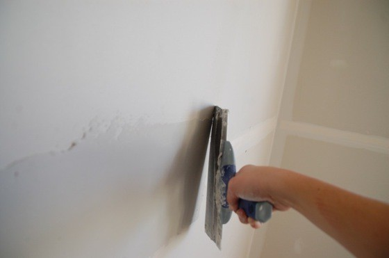 Шпаклевание стен своими руками