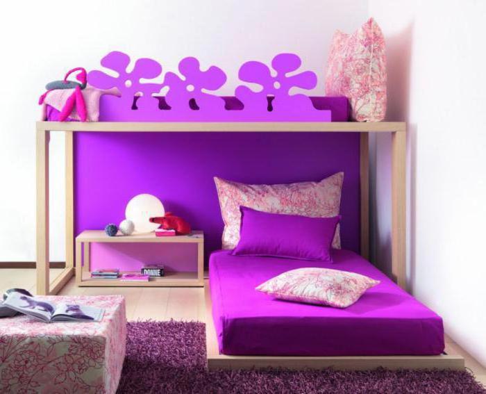 двухъярусная кровать для двух девочек
