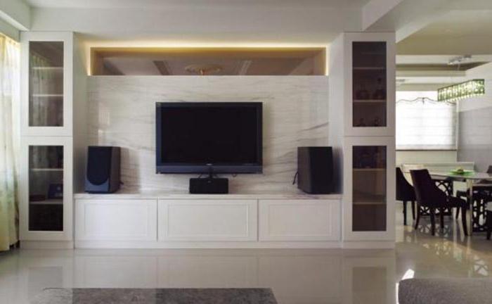 угловая стенка в гостиную в современном стиле