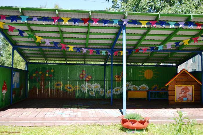 Детские веранды своими руками: оформление и украшение