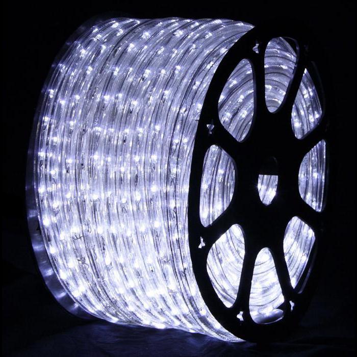 круглый светодиодный дюралайт