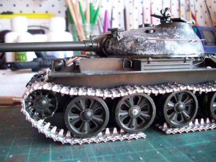 масштабные модели танков из металла