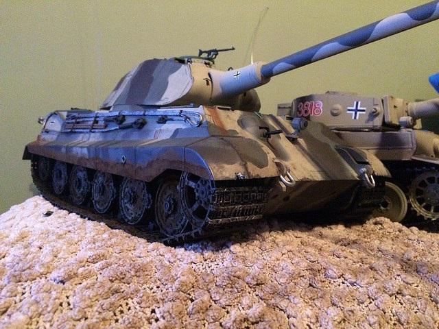 действующие модели танков из металла