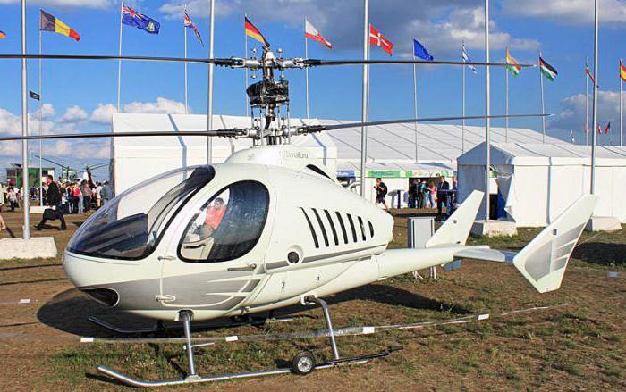 легкие российские вертолеты