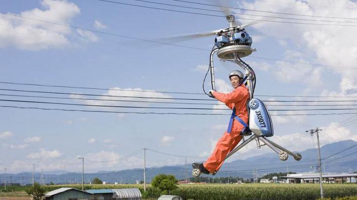 самый легкий вертолет