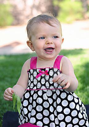 девочке 1 годик поздравления родителям