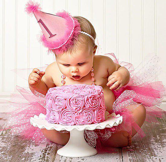 1 годик ребёнку поздравления девочке