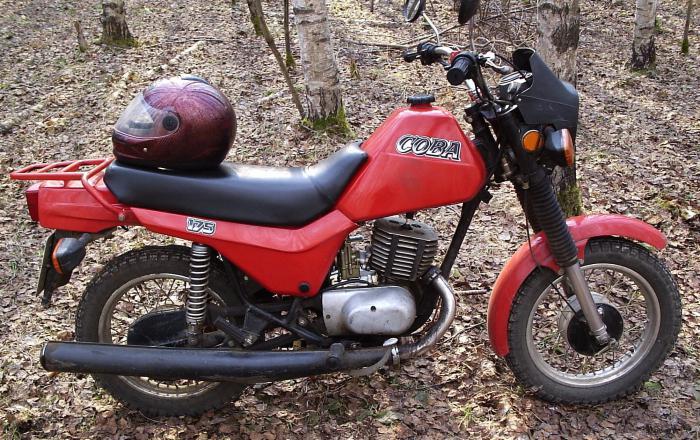 мотоцикл восход сова