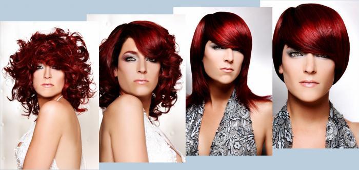 краска для волос chi палитра цветов