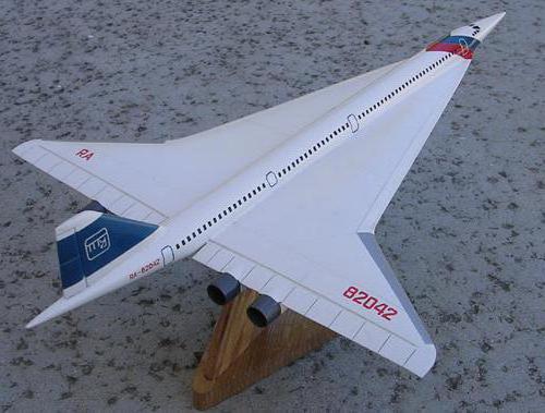 Ту-244 - сверхзвуковой пассажирский самолет