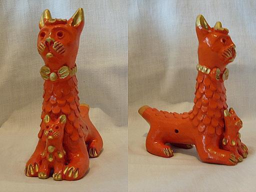 абашевская глиняная игрушка