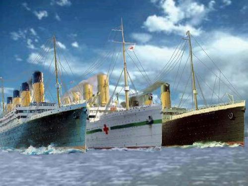 британика корабль