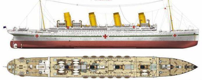 британик корабль фото