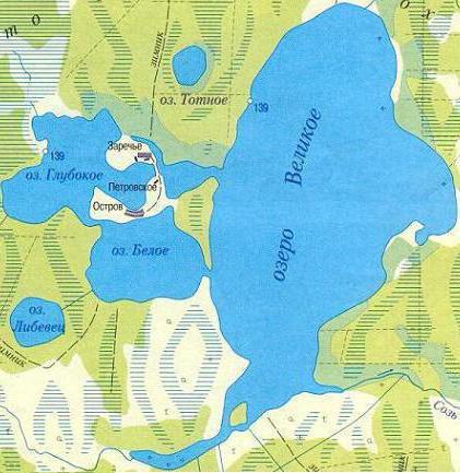 великие озера тверская область как проехать