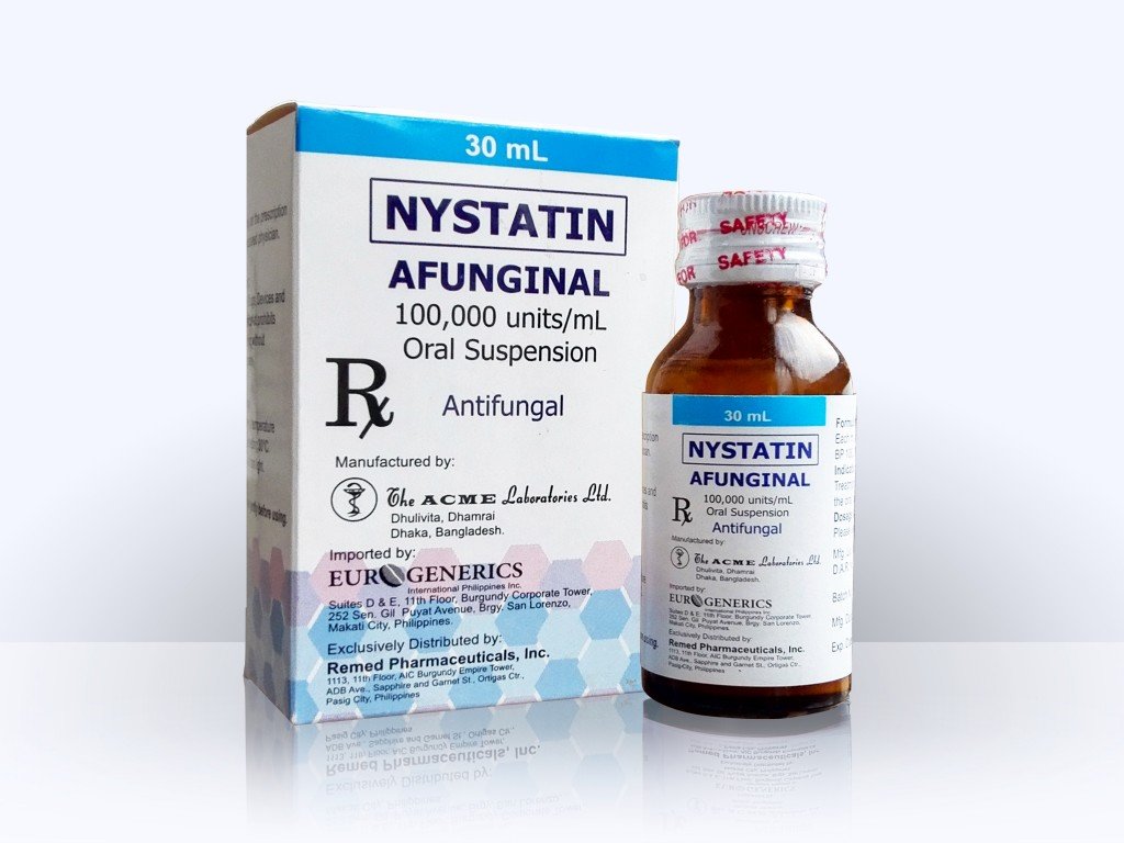 Selectively acts on pathogenic Nystatin
