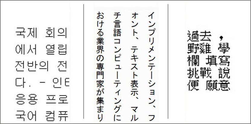 Какие иероглифы употребляют корейцы