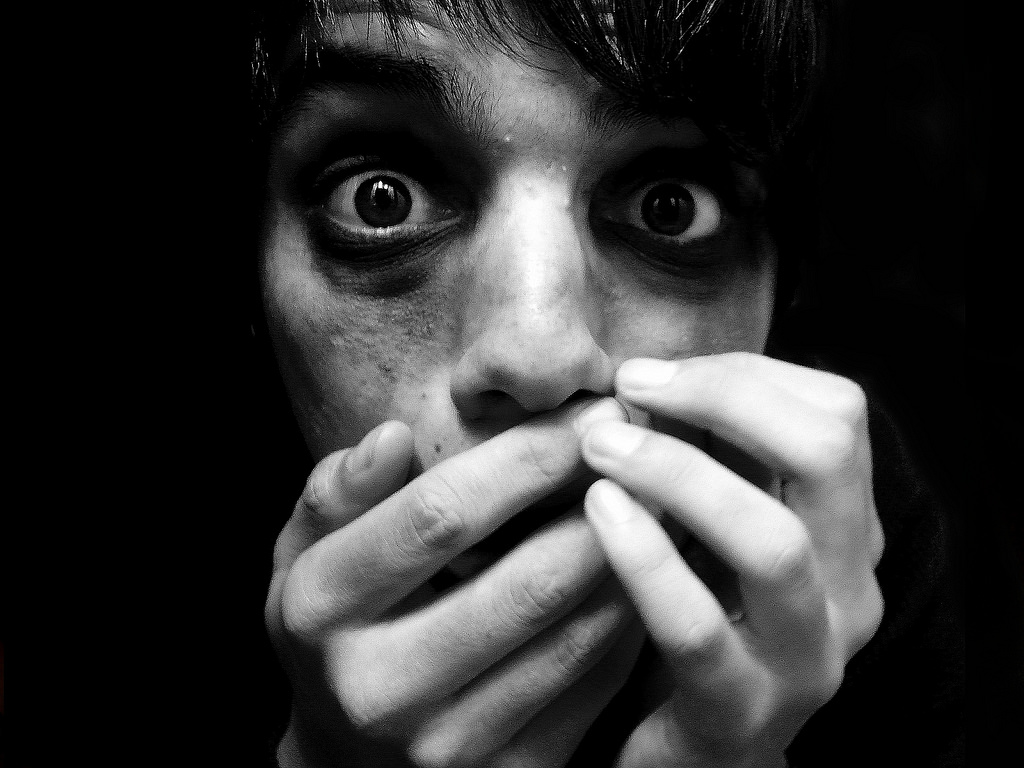 Картинки страха в глазах