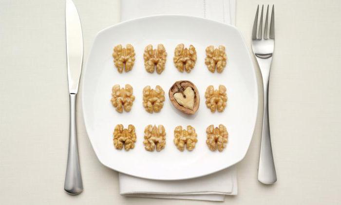 большие грецкие орехи
