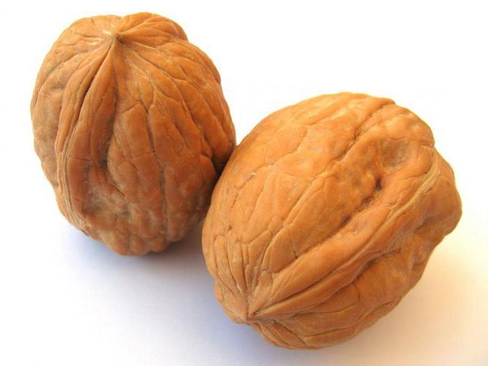 грецкий орех состав