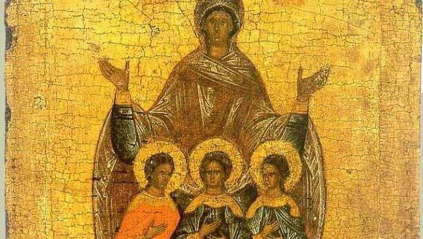 Вера, Надежда, Любовь икона значение