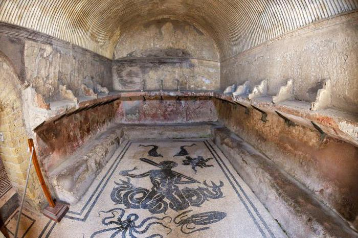 Бани в древнем риме