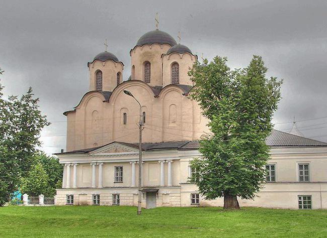 Николо-Дворищенский собор Новгород