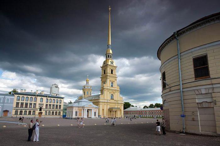 Петропавловская крепость какое событие с ней связано