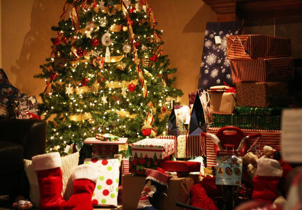 Очень много подарков!