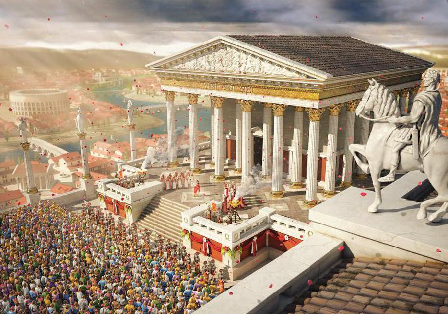 было картинки римской эпохи металлический