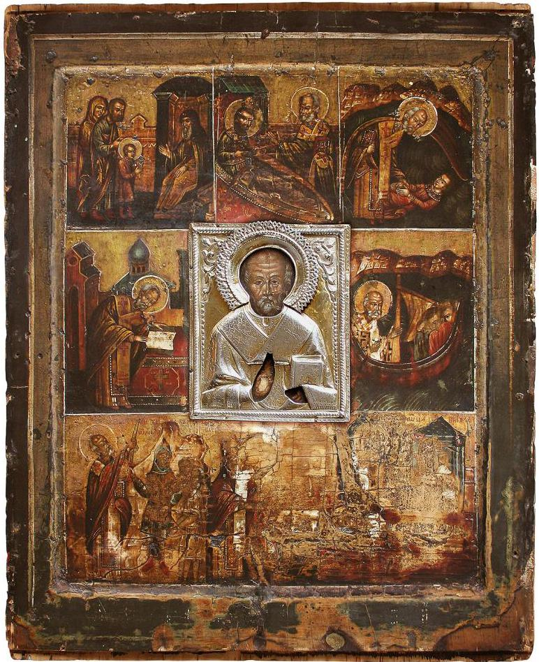 The Great Icon of St. Nicholas the Wonderworker