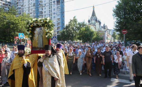 Monastic procession