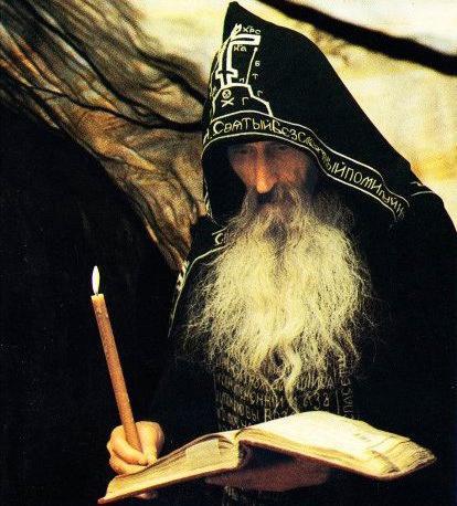 Рисунки монахов православных