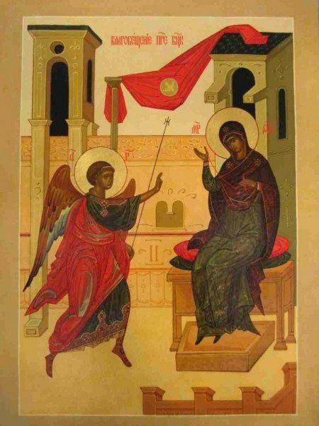 История православного праздника Благовещение