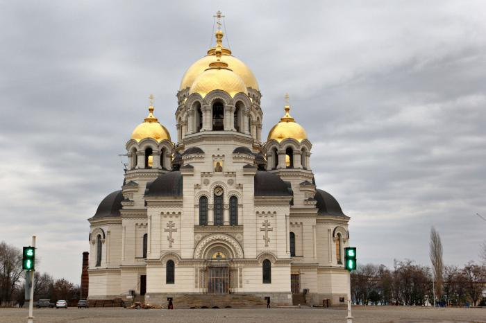 Вознесенский собор Новочеркасска: история. Расписание служб