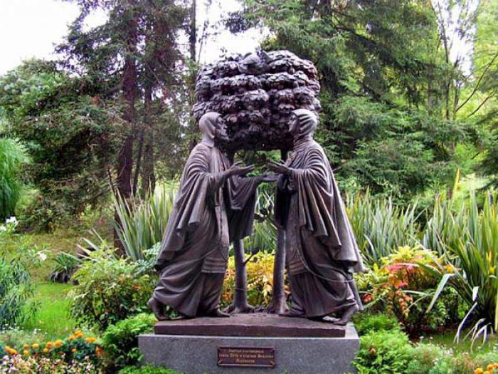 памятник Петру и Февронии в Сочи