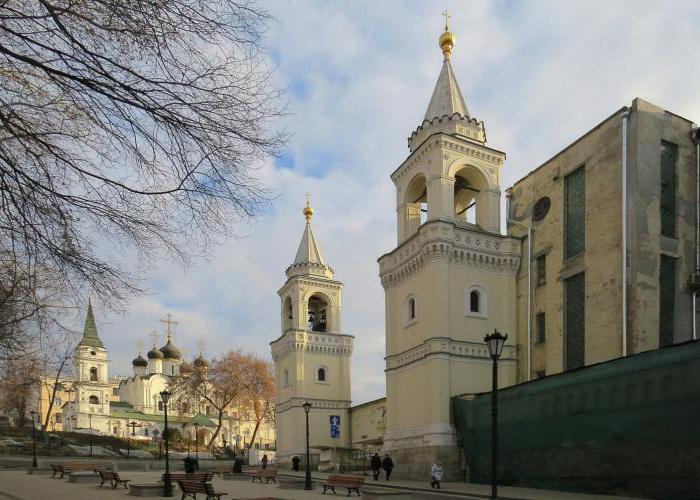ивановский монастырь в москве адрес