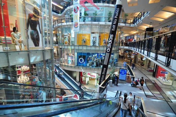 шоппинг прага палладиум бренды