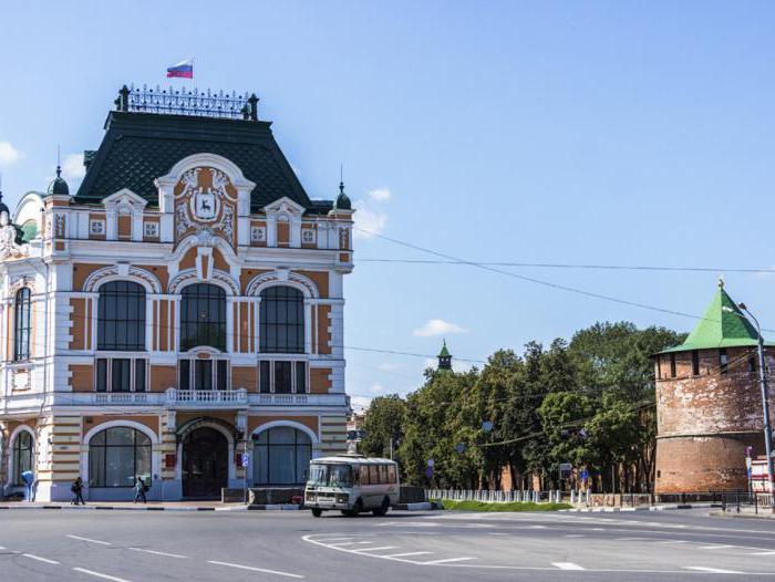 главная улица города нижнего новгорода