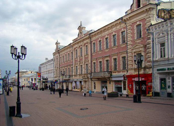 главная улица нижнего новгорода достопримечательности