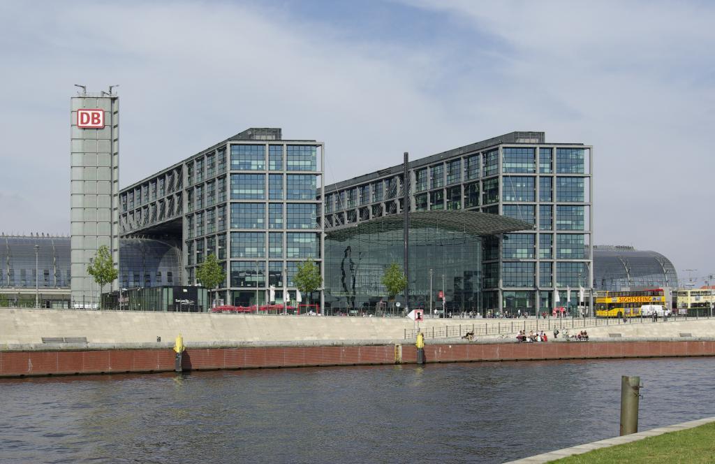 berlin hauptbahnhof - лучший вокзал в Европе