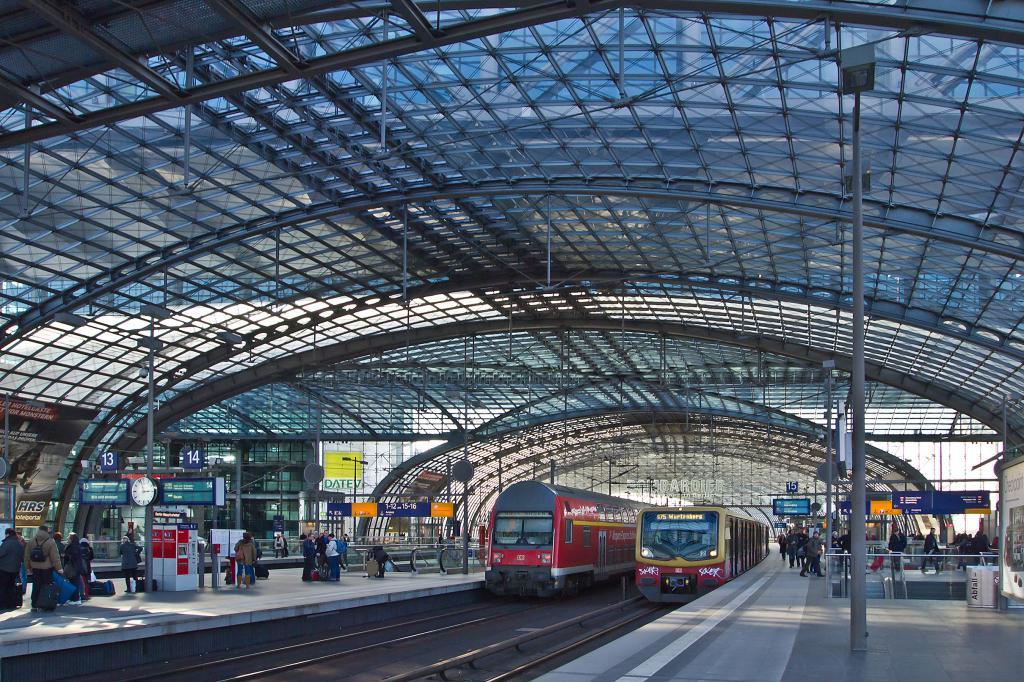 ж.д. вокзал Берлина
